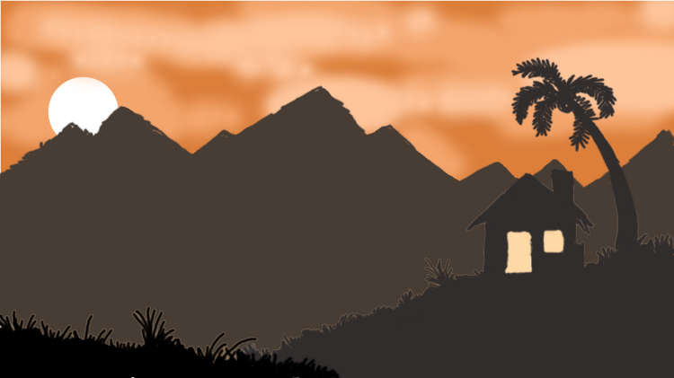 A tropical thing, Sunset kinda location.