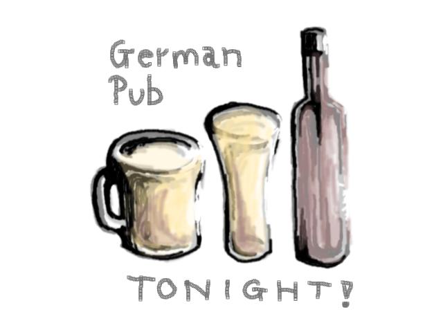 German Pub one night